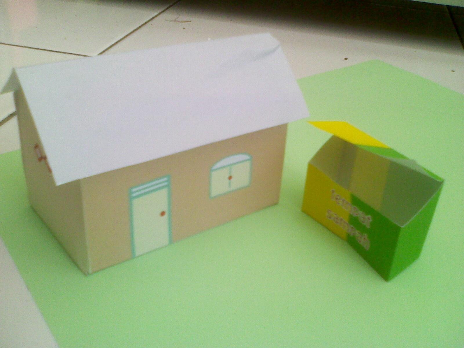 Membuat Rumah-rumahan dari Kertas  3ef6486f40